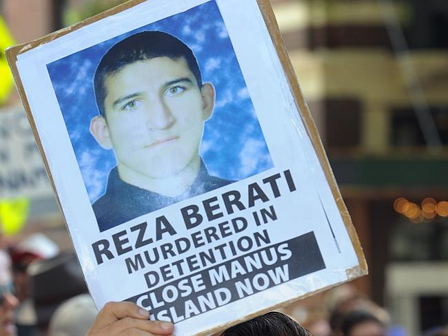 Australians outraged ... protests have continued after Reza Berati was killed on Manus Is
