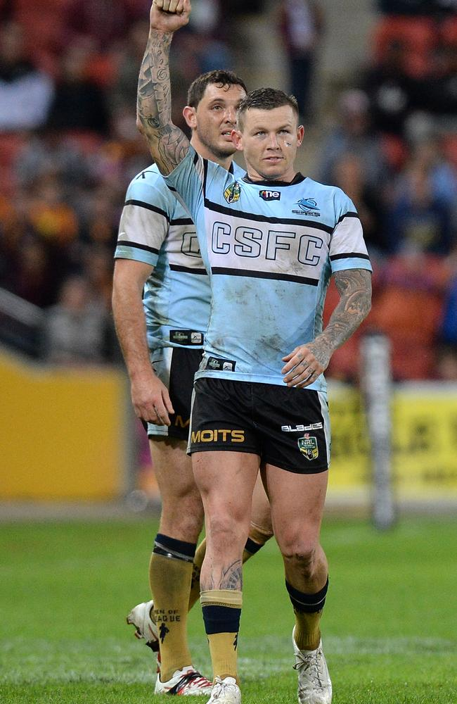 Todd Carney was sacked by the Sharks after a lewd photo went viral.