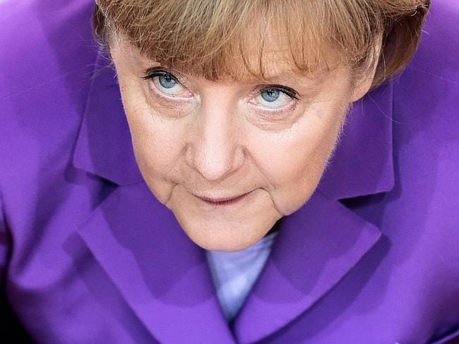 On top ... there is no stopping German Chancellor Angela Merkel who has again been named Forbes magazine's most powerful woman in the world.
