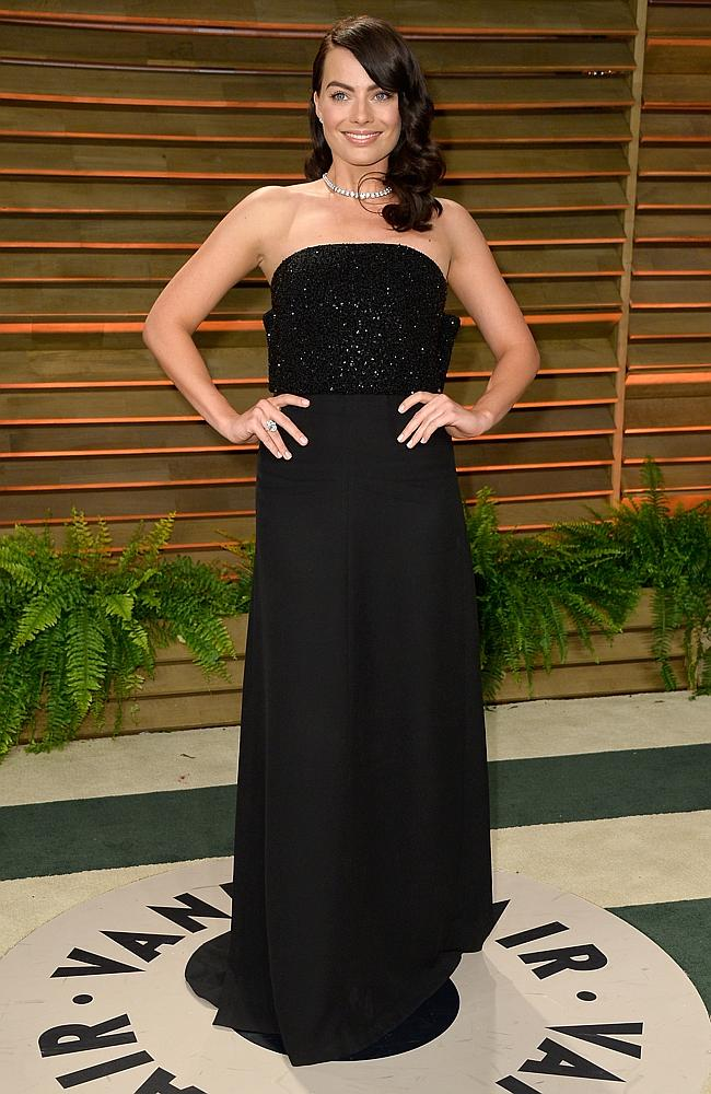 Actress Margot Robbie attends the 2014 Vanity Fair Oscar Party hosted by Graydon Carter on March 2, 2014 in West Hollywood, California. (Photo by Pascal Le Segretain/Getty Images)