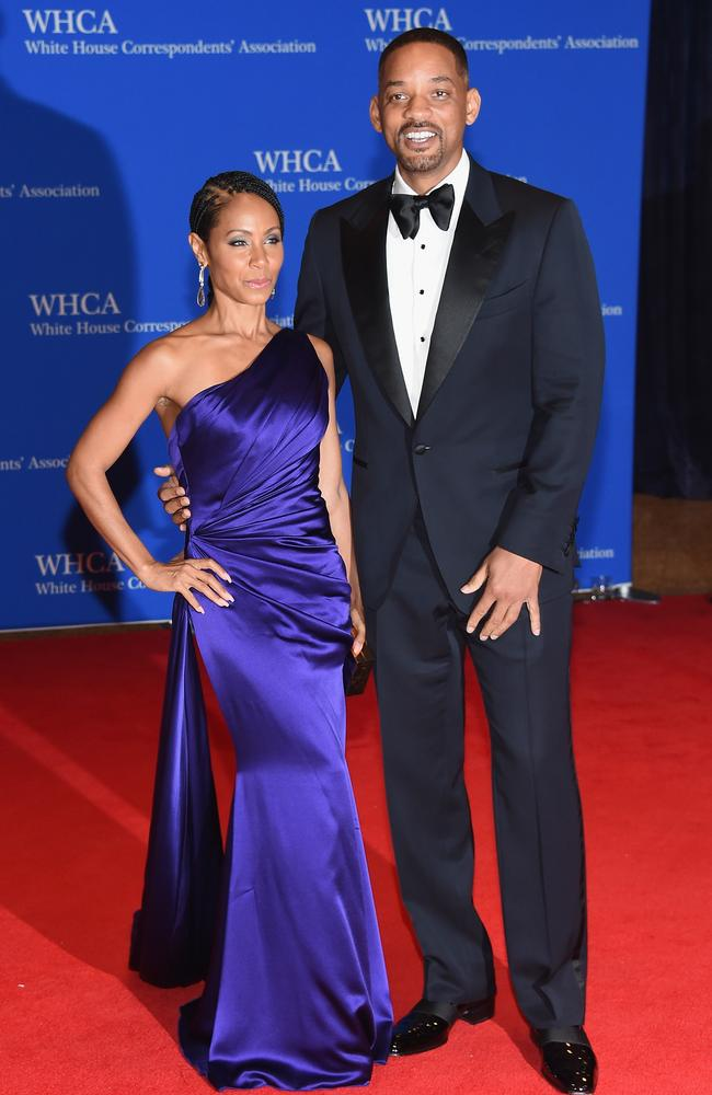 Jada Pinkett Smith and Will Smith went to couples therapy to save their marriage. Picture: Larry Busacca/Getty Images