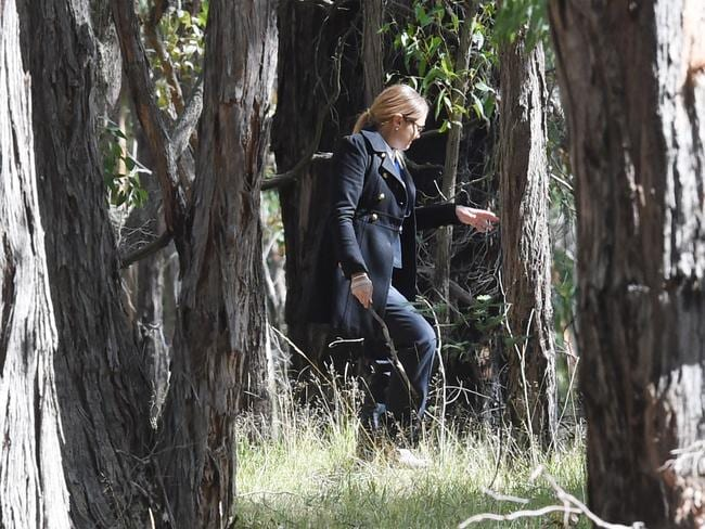 A badly decomposed body has been found in the Macedon Regional Park. Picture: Kylie Else