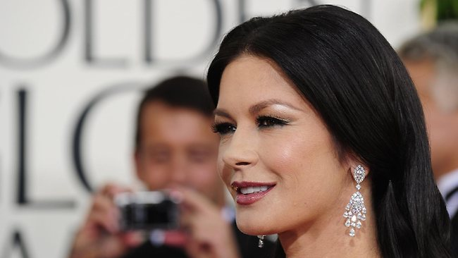 Actress Catherine Zeta-Jones is battling with depression. Picture: AFP/Robyn Beck