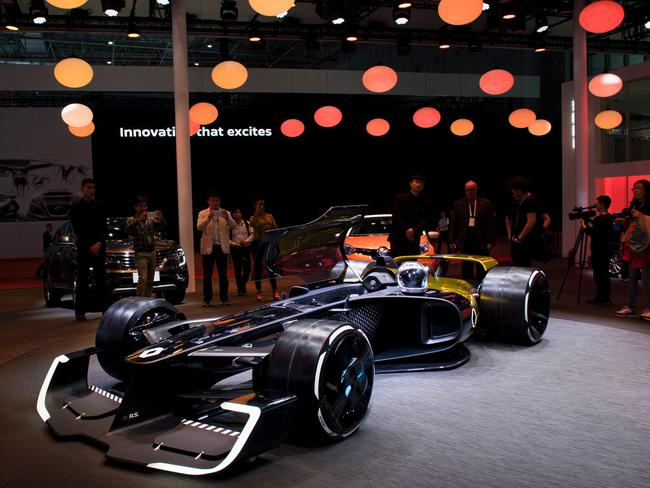 Is this the stunning new look for Formula One.