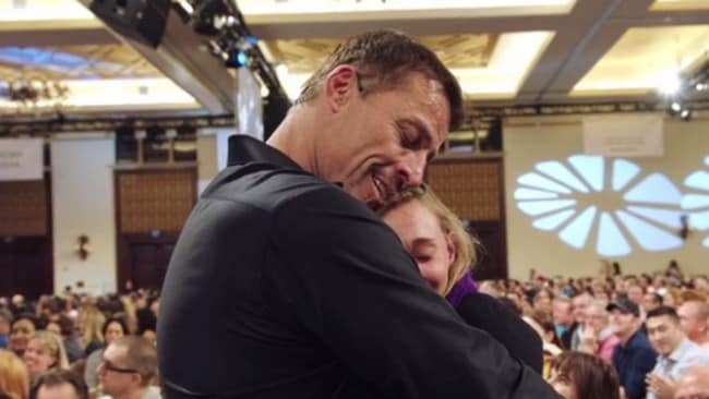 Tony Robbins Netflix documentary shows confronting world ...