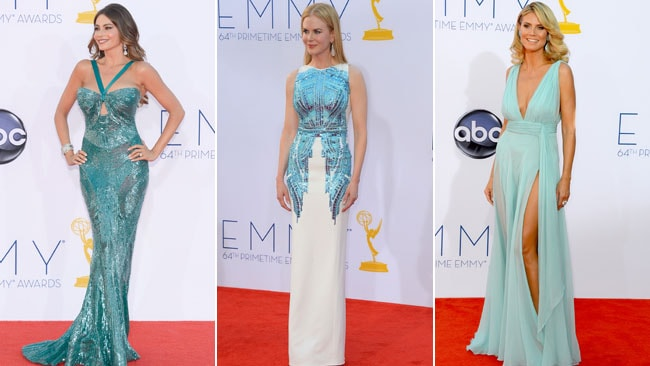 Sexy sea sirens: Sophia Vergara, Nicole Kidman amd Heidi Klum all dominated the red carpet. Picture: Getty Images