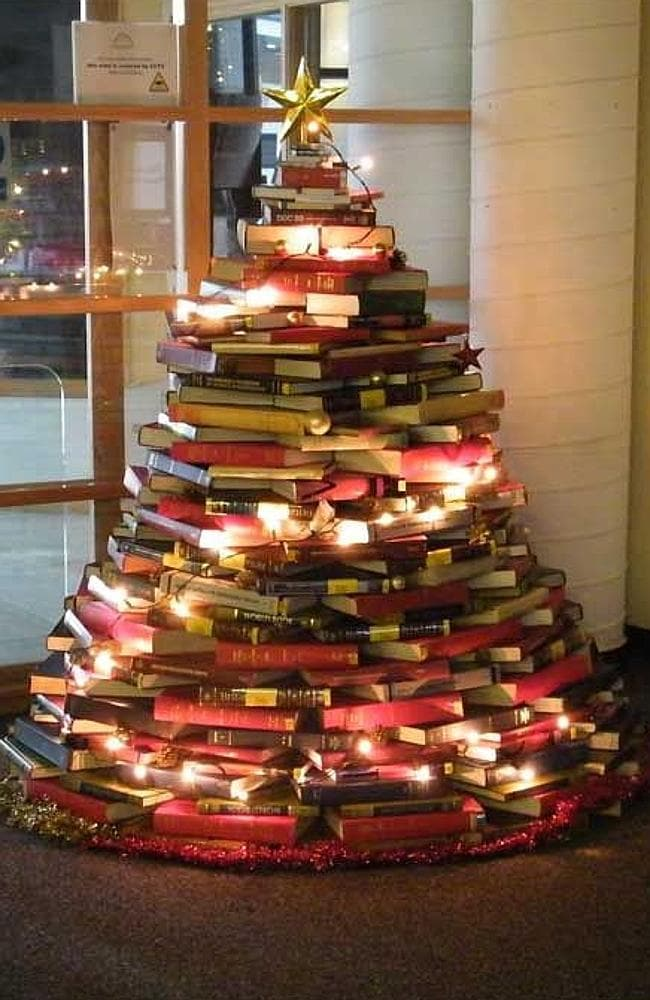 The epic book tree. Yes, we want it too. Picture: Pinterest/Bestdesignoptions.com