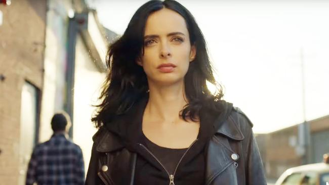 The arse-kicking detective Jessica Jones will return on March 8, 2018