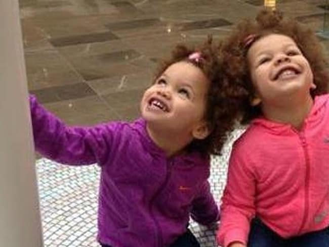 Sisters Savannah, 4, and Indianna, 3, were smothered by their father.