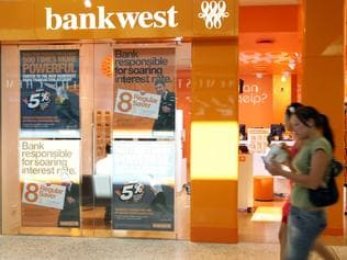 New-look BankWest branches.