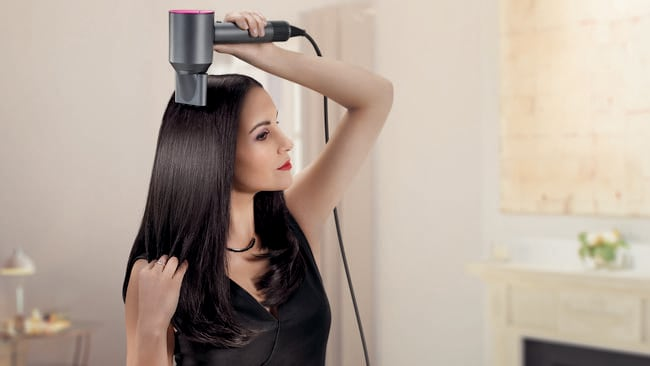 Dyson's first hair dryer, the Supersonic, is due out in Australia tomorrow.
