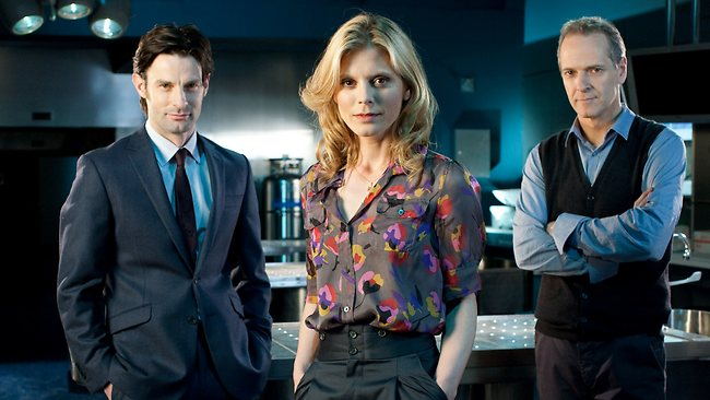 Actors Tom Ward, Emilia Fox and William Gaminara star in Silent Witness. Picture: ABC