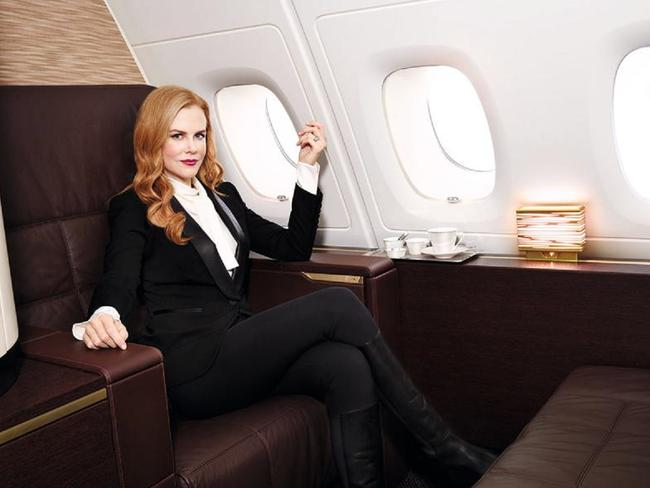 A one way ticket from Sydney to New York in the Nicole Kidman approved Etihad suite The Residence costs about the same as each square metre of the luxury Sydney pad.