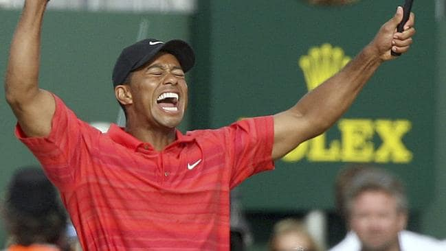 Tiger Woods' 2006 victory meant everything to him.