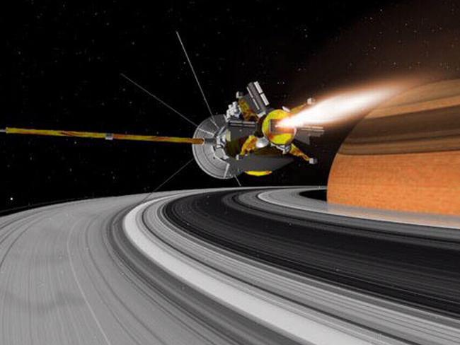 NASA's suicide mission into Saturn | news.com.au ...