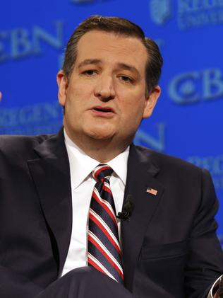 Ted Cruz. Picture: Steve Helber/AP