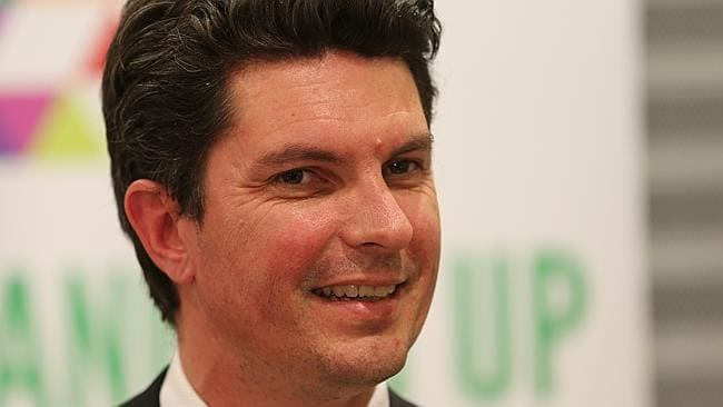 WA Greens Senator Scott Ludlam who won a seat in the Senate after requesting a recount by the Electoral Commission.