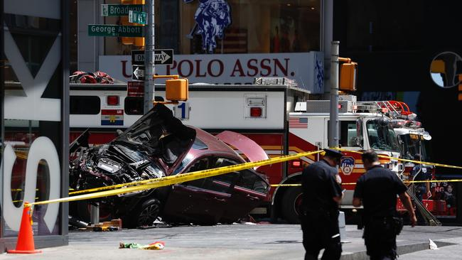Police are investigating the cause of the crash. Picture: AP Photo/Seth Wenig