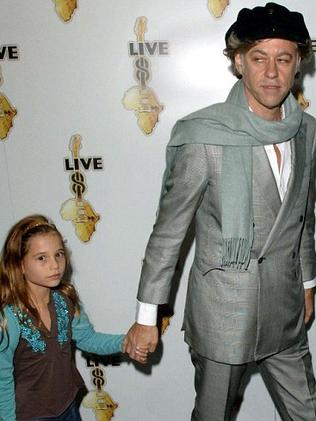 Tiger Lily Hutchence was raised by Bob Geldof.