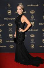 Jess Maloney at the 2017 Dally M Awards held at The Star in Pyrmont. Picture: Christian Gilles