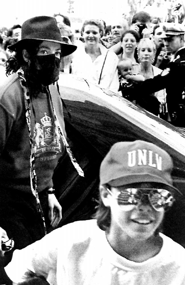 Michael Jackson arrives at a hotel in Monaco with Jordan Chandler on May 11, 1993. Picture: Supplied