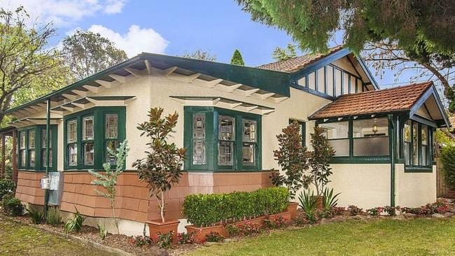 INNER WEST CHARM: 126 Alt Street, Ashfield where more than 100 people gathered for an auction this weekend. The property sold for $1.45 million.