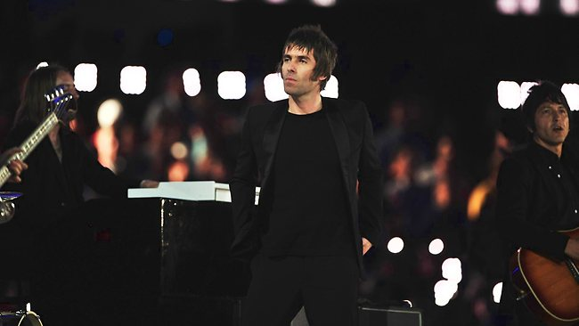 Former Oasis frontman Liam Gallagher.