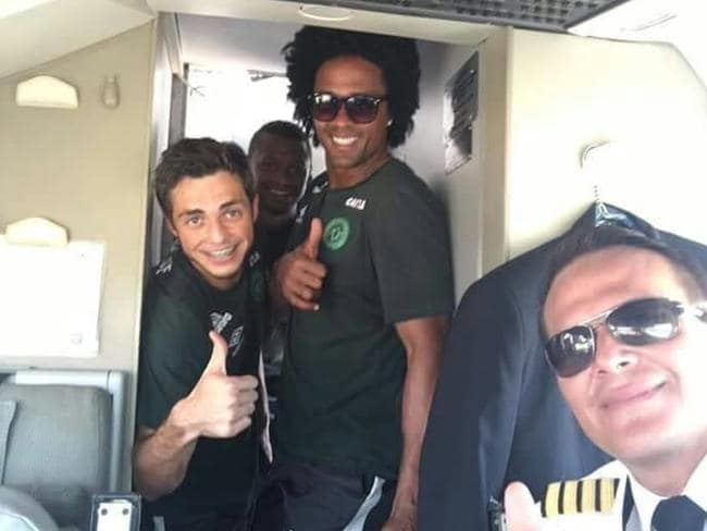 The pilot flying the plane which crashed in Colombia carrying a Brazilian football team.
