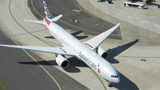 The entry of American Airlines on the trans-Pacific route has triggered the ongoing price war. Picture: James Morgan