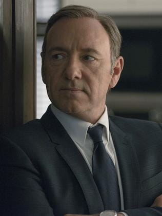 Kevin Spacey in House of Cards. Picture: Nathaniel Bell