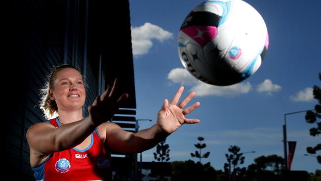 Sydney Swifts star Caitlin Thwaites topscored for her club on the weekend.
