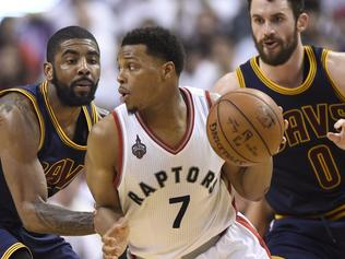 Kyle Lowry, Kevin Love, Kyrie Irving