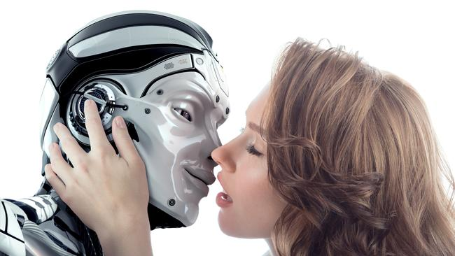 Dr O'Neil thinks that future women will replace real men with 'dashing menbots'