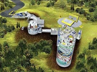 Another missile silo design. Last year, prices rocketed.