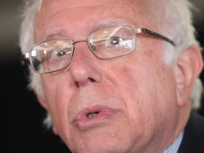 Sanders: I'm (pretty much) with her