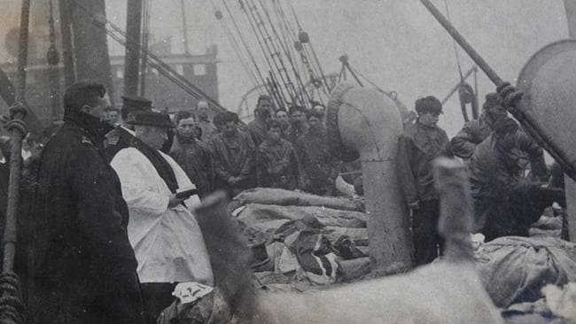 Titanic - bodies recovered. Picture: HAldridge/BNPS