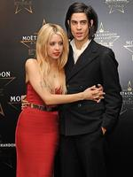 Peaches Geldof and Thomas Cohen attend the Moet & Chandon Etoile award ceremony to honour Mario Testino for his contribution to cultural society at Park Lane Hotel on September 19, 2011 in London, England. (Photo by Ben Pruchnie/Getty Images)
