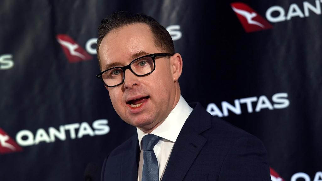 Qantas chief executive officer Alan Joyce. File picture