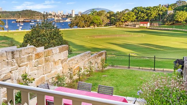 HARBOUR views from the rear of 49 Louisa Rd, Birchgrove contributed to its great sale result. Picture: Supplied.
