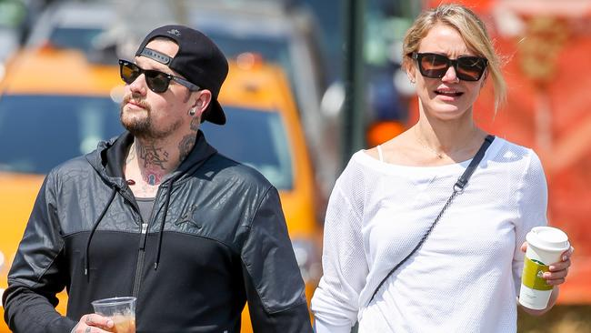 Star couple 'engaged' ... Benji Madden has reportedly popped the question to Cameron Diaz.