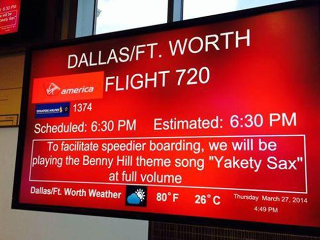 And for those awaiting their trip to Dallas ... Picture: Rootbeer1