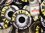 Eclipse souvenirs are sold for total solar eclipse enthusiasts gathering in Madras, Oregon, on August 18, 2017. Picture: AFP PHOTO / ROB KERR