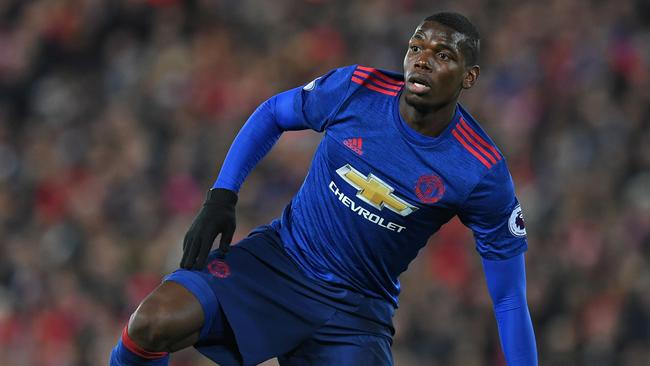 Manchester United's French midfielder Paul Pogba.