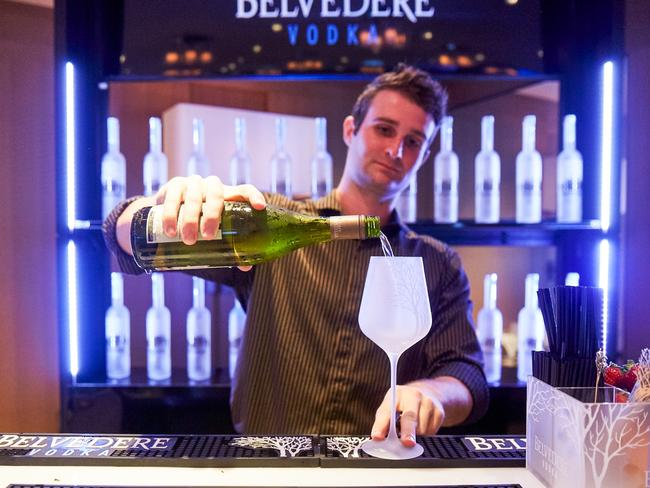 Park Hyatt offers Belvedere cocktails. Picture: Supplied