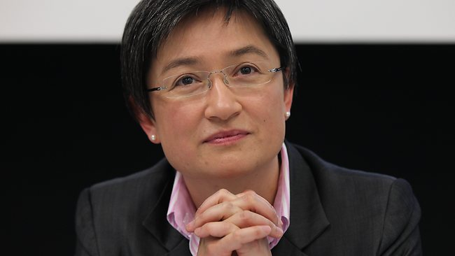 02/11/2012 NEWS: Securing the Future. How Australian can thrive in a volatile world. The Australian and the Melbourne Institute present their eighth joint economic and social outlook conference at the University of Melbourne. Senator Penny Wong. Pic. Nowakowski Jake