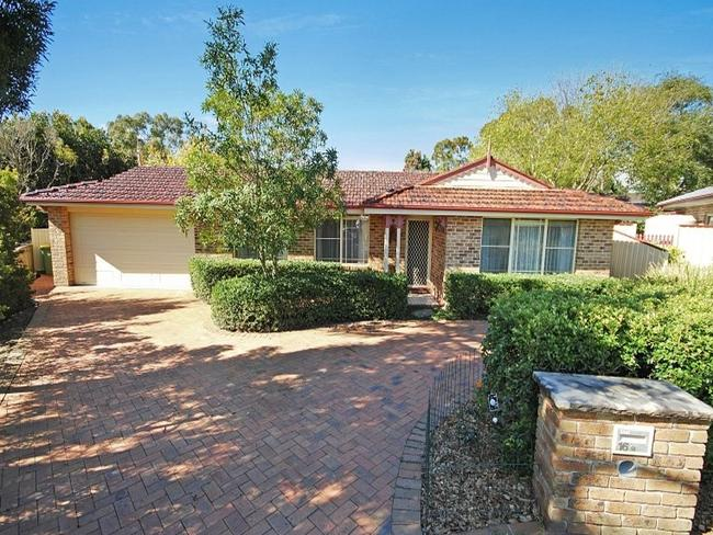 Snapped up: 16 Goldsborough Cl in Kariong, NSW sold two days after listing. Picture: realestate.com.au