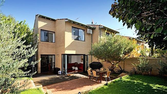 Under $1.1 million ... At Peppermint Grove a home near the Stirling Highway. Picture: realestate.com.au