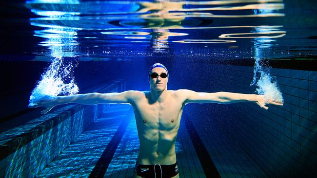 Swimmer Mack Horton. Picture: Alex Coppel