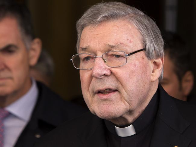 Cardinal George Pell will become the most senior Catholic to face charges over sexual offences. Picture: Riccardo De Luca/AP