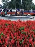 The Eternal Flame at the Kings Park State War Memorial. Picture: PerthNow reader Daniel Hansen